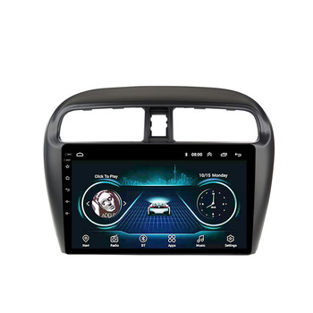 Eastereggs head unit 9 inch 2.5D Android 8.1 Navigation GPS Multimedia Player for Mitsubishi mirage attrage 2012-22018 image