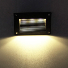 5W/7W LED Corner Corridor Lamp E27 Bulb Wall Decor Light Step Wiring Box Garden