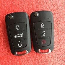 3 botões do carro dobrável flip remoto chave fob para great wall gwm wingle 5 wingle 6 steed haval h1 h5 c30 dobrável chave capa escudo