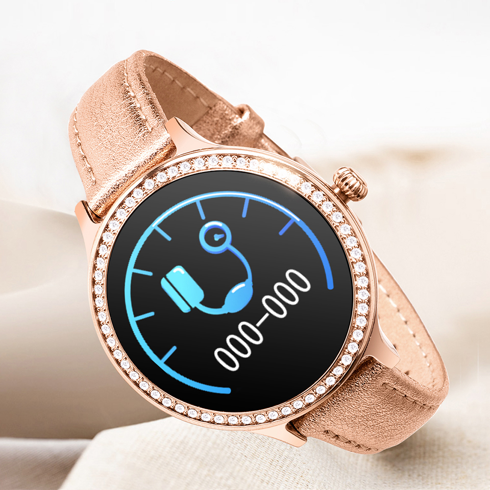 <font><b>M8</b></font> <font><b>Smart</b></font> <font><b>Watch</b></font> women Heart Rate Monitoring Smartwatch IP68 Waterproof Sport Tracker Suitable for Android and IOS image