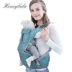 Honeylulu 3 w 1 noworodek nosidełko dla dziecka niemowlę chusta do noszenia dzieci ergonomiczny plecak z przodem do świata kangur dla dziecka Hipseat Ergoryukzak