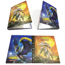 Pokemon 240pcs Cards Holder Album Toys for Children Collection Album Book Playing Trading Card Game Pokemon стоимость