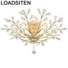 room moderne luminaire colgante moderna luminaria home lighting plafondlamp lampara de techo crystal plafonnier ceiling light