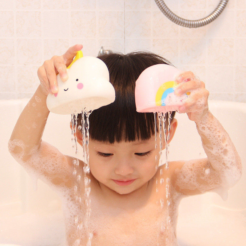 Baby Bath Toys Bathroom Play Water Spraying Tool Clouds Shower Floating Toys