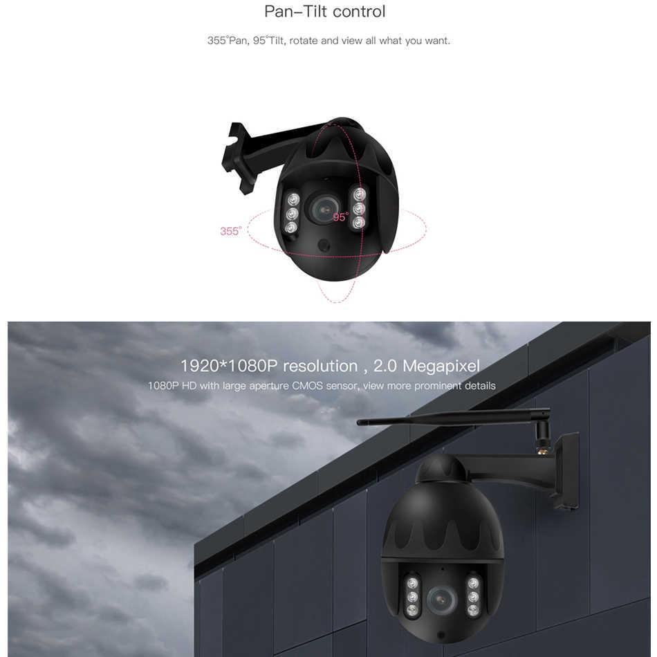 VSTARCAM C31S IP66 Chống Nước Camera WiFi IP Chuyên Dụng Ngoài Trời 4X Zoom 1080P Lấy Nét Tự Động PTZ CAMERA QUAN SÁT Giám Sát An Ninh IR ban đêm