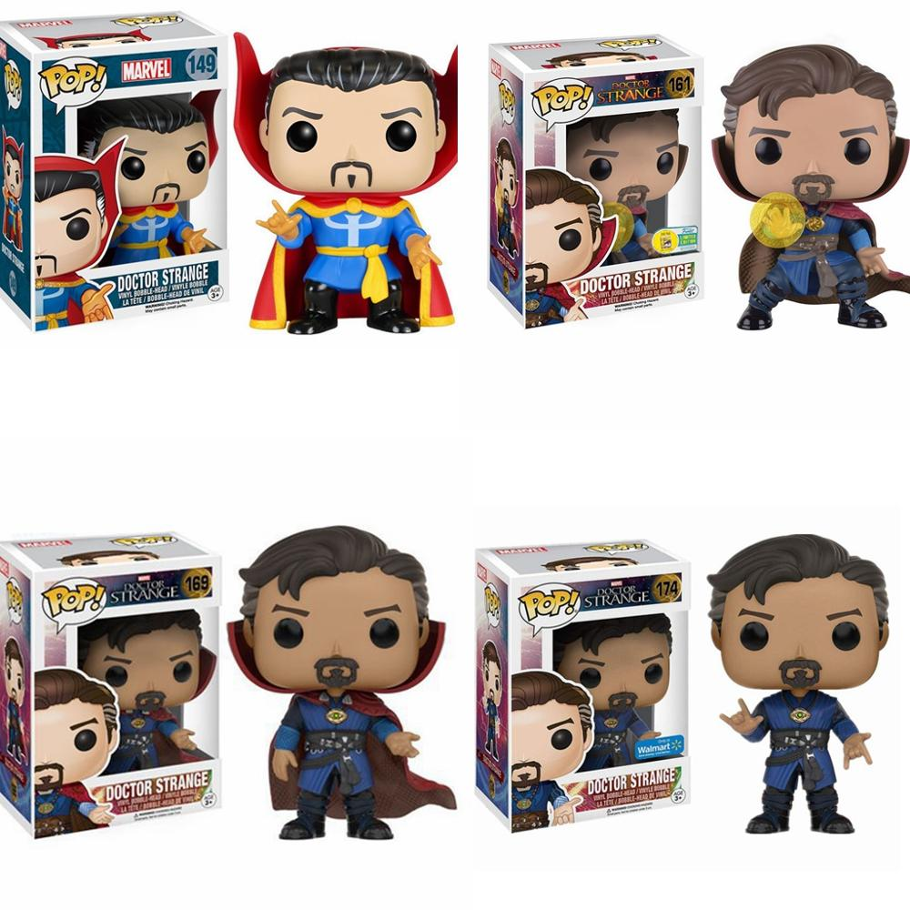 FUNKO POP Marvel The Avengers Doctor Strange 161# Vinyl Action Figures Collection Model Toys For Children Birthday Gift