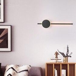 Nowoczesna minimalistyczna nowa osobowość taśmy kinkiet LED schody miecz lampa do korytarza lampka nocna do sypialni