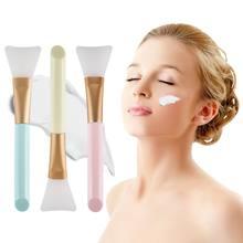 Профессиональная гладкая силиконовая кисть для маски лица «сделай