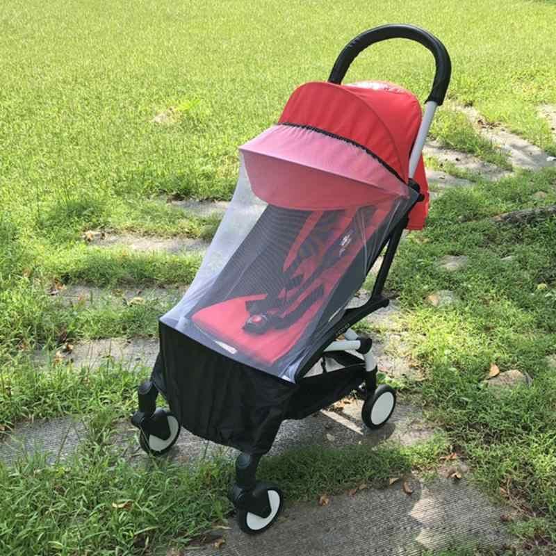 รถเข็นเด็กทารกยุงแมลงอุปกรณ์เสริมสุทธิตาข่ายปลอดภัย Buggy ตาข่ายรถเข็นยุงสุทธิรถเข็นเด็ก Full ตาข่าย