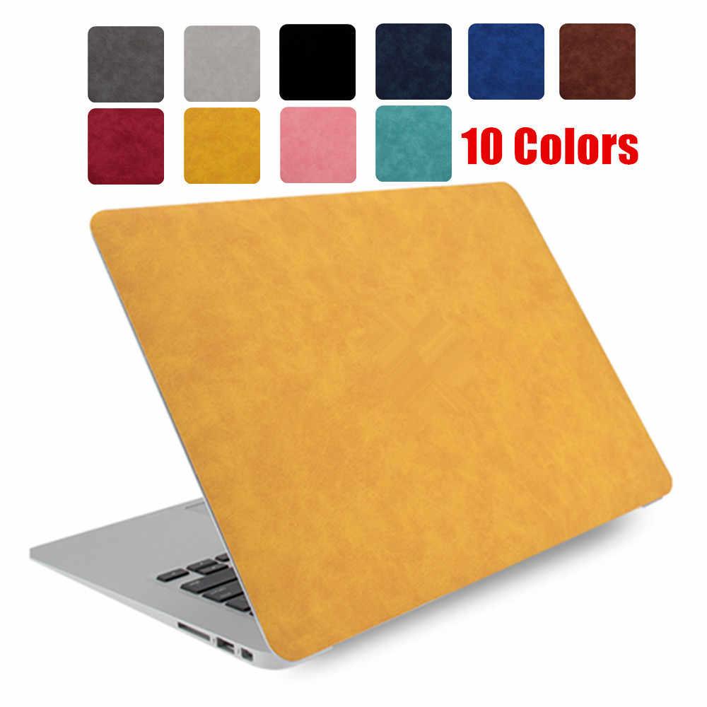 PU skóra Shell skóry pokrywa i ochraniacz ekranu dla Apple MacBook Air 13 cal laptopa 2020 nowy Model A2179