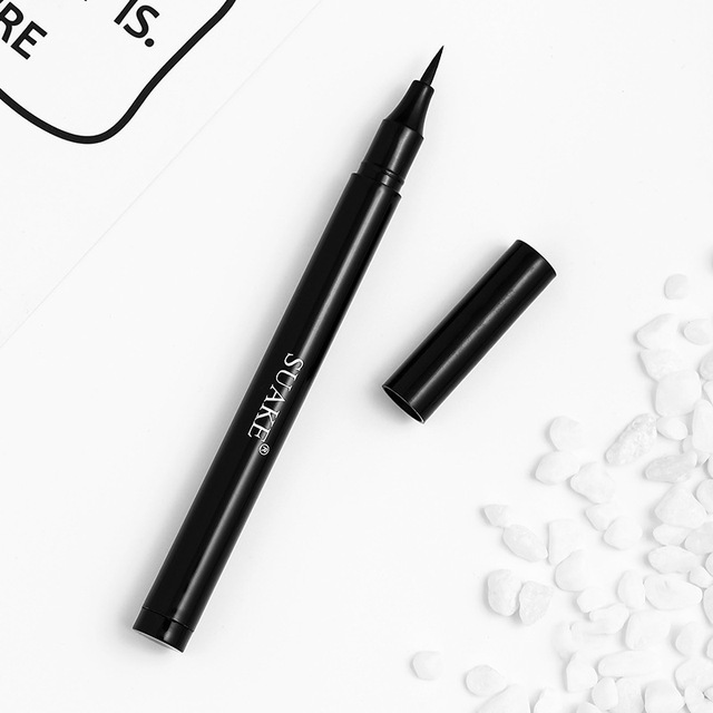 1PCS Matte Black Waterproof Eyeliner Pencil Long-lasting Liquid Eye Liner Pen Pencil Make Up Tool Makeup Crayon Eyes Marker Pen 1