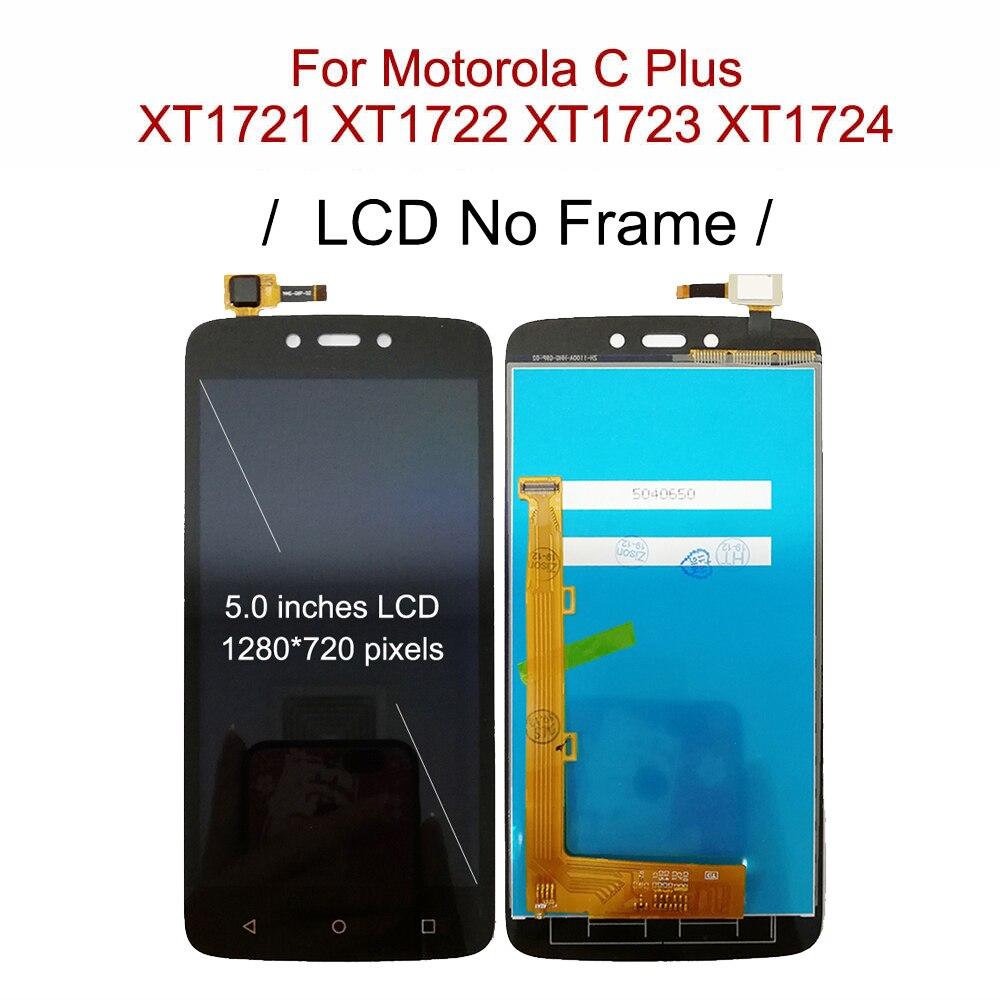 Image 5 - LCD With Frame For Motorola Moto C XT1750 XT1755 Xt1754 Display C plus XT1721 XT1722 XT1723 XT1724 LCD Screen Touch DigitizerMobile Phone LCD Screens   -