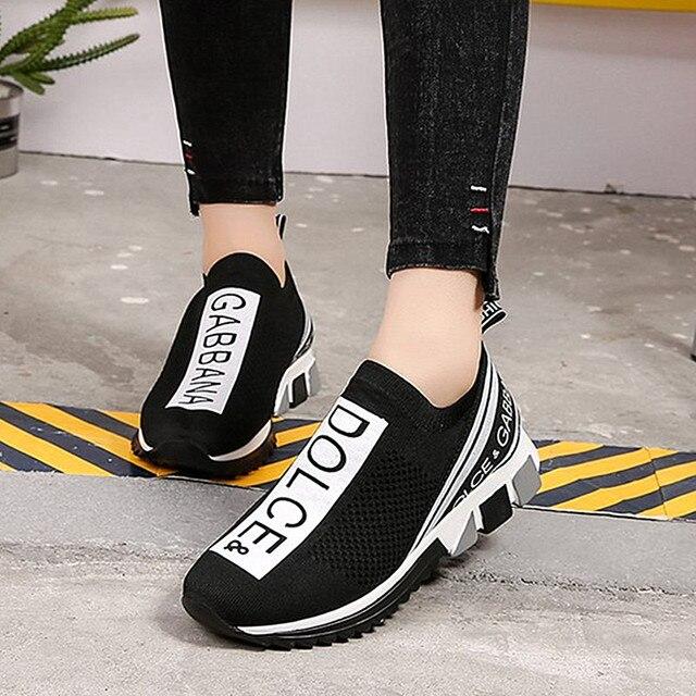 Zapatillas de deporte Unisex para hombre y Mujer, zapatos planos de lujo para caminar 3