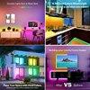 LED Strip Light 10M RGB LED 5050 Light Neon 12V Waterproof Decoration For Wall Bedroom Ambient TV Bluetooth Controller EU Plug 2