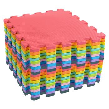 Mata do zabawy dla dzieci mata do zabawy dla dzieci wielokolorowa mata akcyzowa mata z pianki EVA bezpieczna miękka mata do rozwijania Playmat zabawki edukacyjne dla dzieci tanie i dobre opinie as show 10-12 M Kids Play Mat Multi-Color