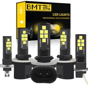 BMT H1 H3 LED Light Bulb h27w2 h27w/2 881 880 h27w/1 h27w1 Car LED Fog Lights Daytime Running Lights DRL LED 12V 24V Auto Lamp(China)