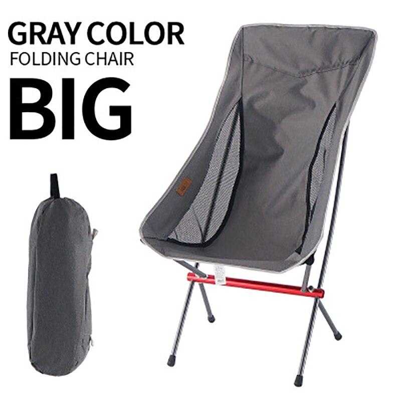 Outdoor folding chair Lightweight portable camping fishing leisure beach Folding Camping Chair Seat
