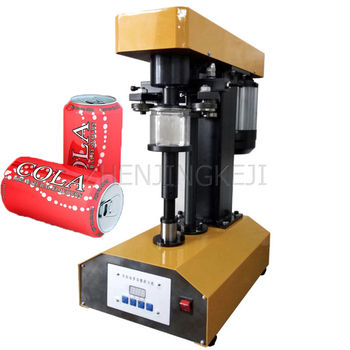 220V/110V Fully Automatic Seal Tank Machine Desktop Paper Plastic Iron Aluminum Can Seal Equipment Multipurpose Cover Tools 110v 220v fully automatic label peeling machine paper stickers label separator label tearing machine efficient tools equipment