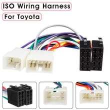 Автомобильный стерео радио жгут ISO радио жгут проводов разъем адаптер для Toyota Camry Corolla RAV4 Aurion Avensis