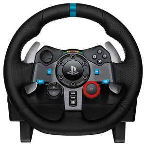 Image 2 - G29 Logitech driving force Game steering wheel PC / PS3 / PS4 racing car 900 degree driving force feedback handbrake gear lever