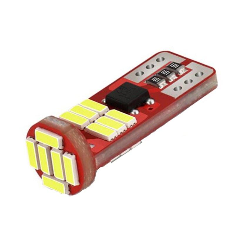 20 шт., автомобильные габарисветильник огни Canbus T10 W5W 194 168, 18SMD 4014, 12 В постоянного тока