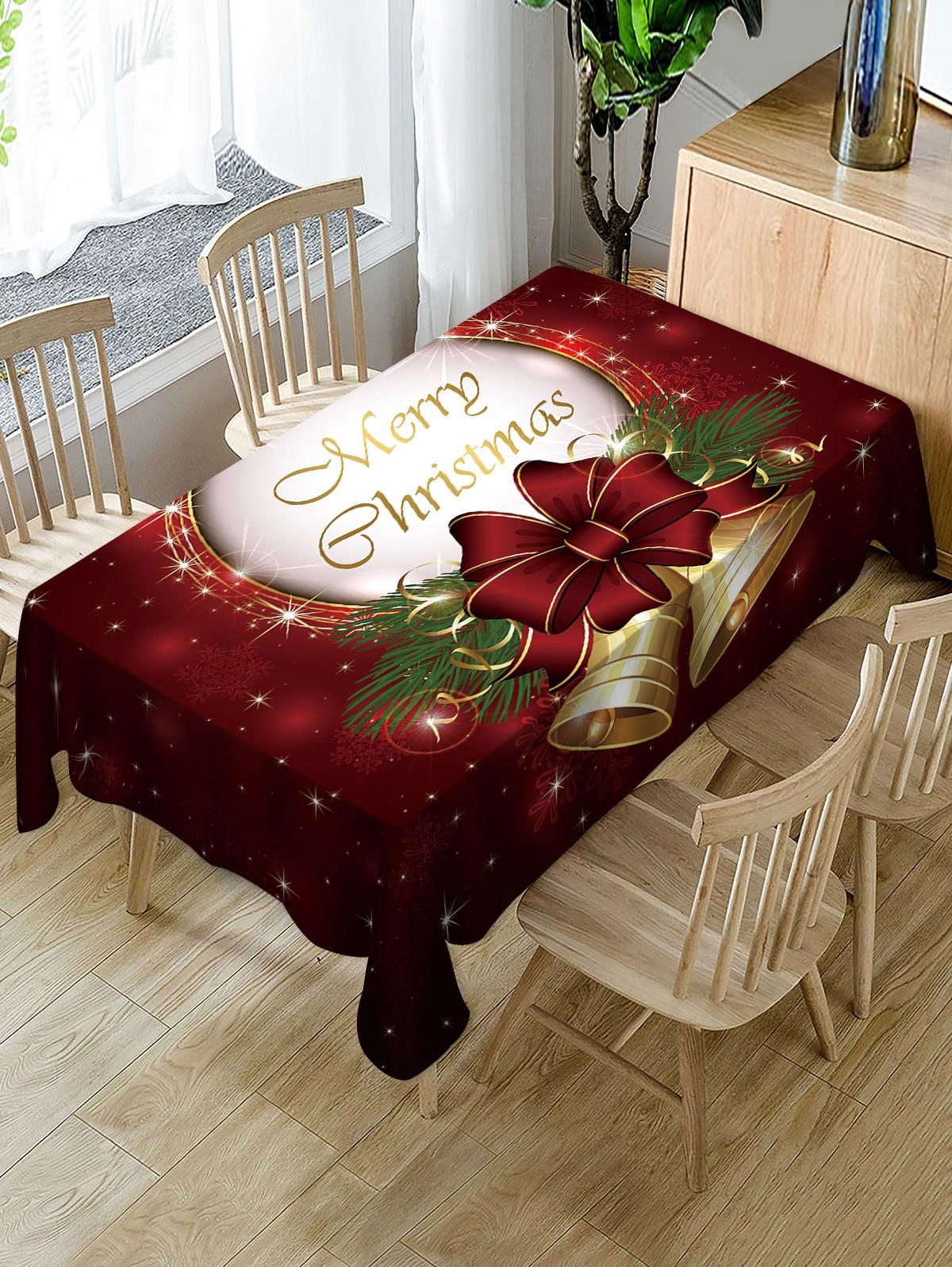 Langria Merry Christmas Table Cloth