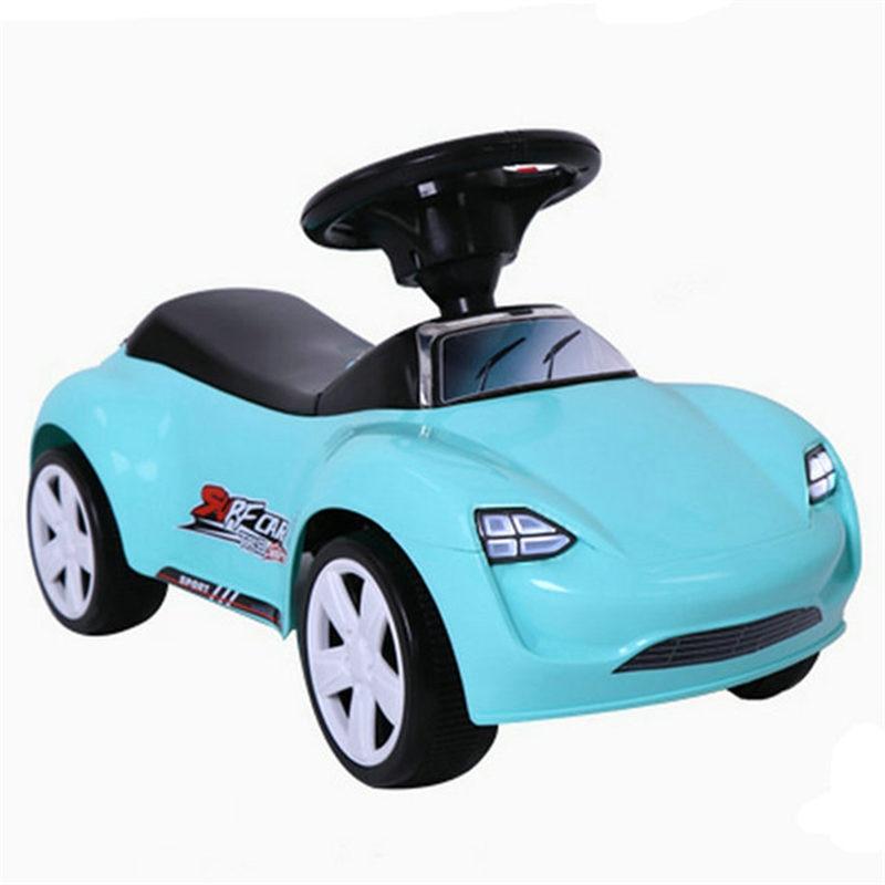 Kids Four-wheel Music Silent Wheel Children Ride on Car Toys for Boys Baby Walker Cars for Children To Ride 10M-4 Years