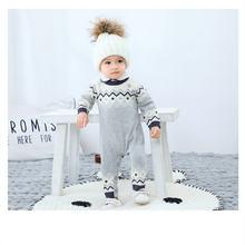 Детский трикотажный комбинезон на возраст 6 24 месяца
