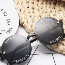 NAUQ fashion trend boys girls round sunglasses children 2020 bran designer baby