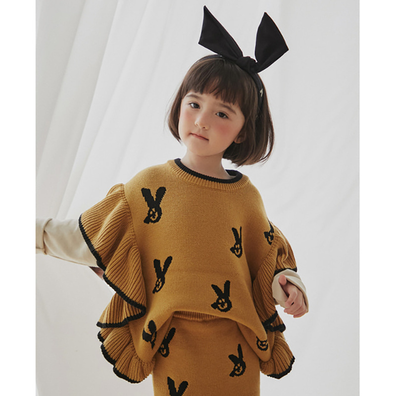 2021 New Autumn Winter Kids Sweaters for Boys Girls Cute Print Knit Cardigan Baby Children Fashion Cotton Outwear Brand Clothes 3