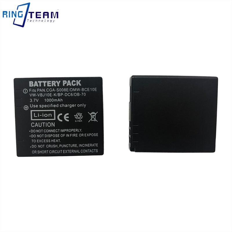 Bateria para Leica C-Lux 2 C-Lux 3 Panasonic Lumix dmc-fs20