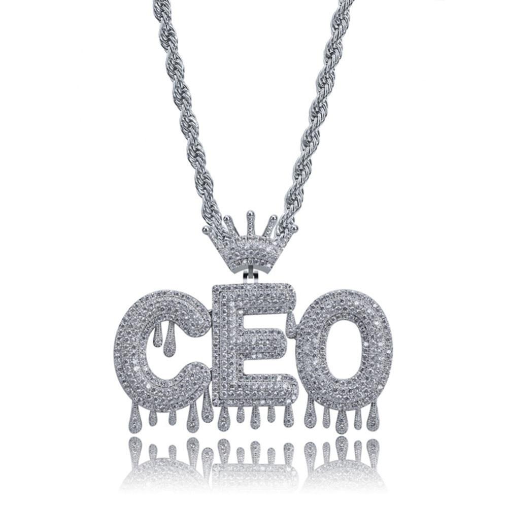 BlingDi Womens Mens MAMAMOO Logo Heart Shaped Cross Necklace