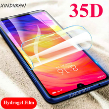 2pcs 35D Full hydrogel film for xiaomi redmiNote7 7pro Front+Back screen protector Redmi7 7A 6 6A 6pro Note5 Note6pro