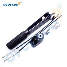 6B4-42111-00-4D подвесной дроссельной заслонки ручка в сборе с кабелем для Yamaha подвесной мотор 9.9HP 15HP 2 такта 6B3 6B4