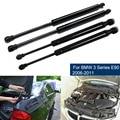 4 шт. газовая пружина, капот, подъемник, задняя дверь, поддержка багажника, демпфер, задняя амортизационная распорка для BMW 3 серии E90 E90N 323i 325i ...