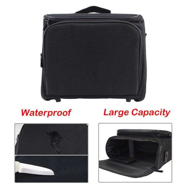SUNNYLIFE 34x28x13 см вместительная сумка для хранения с защитой от царапин, чехол для Epson Panasonic BenQ Sharp Optoma NEC Acer проектор