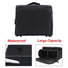 SUNNYLIFE 34x28x13cm Lager Capacity Scratchproof Storage Carry Bag Case for Epson Panasonic BenQ Sharp Optoma NEC Acer Projector