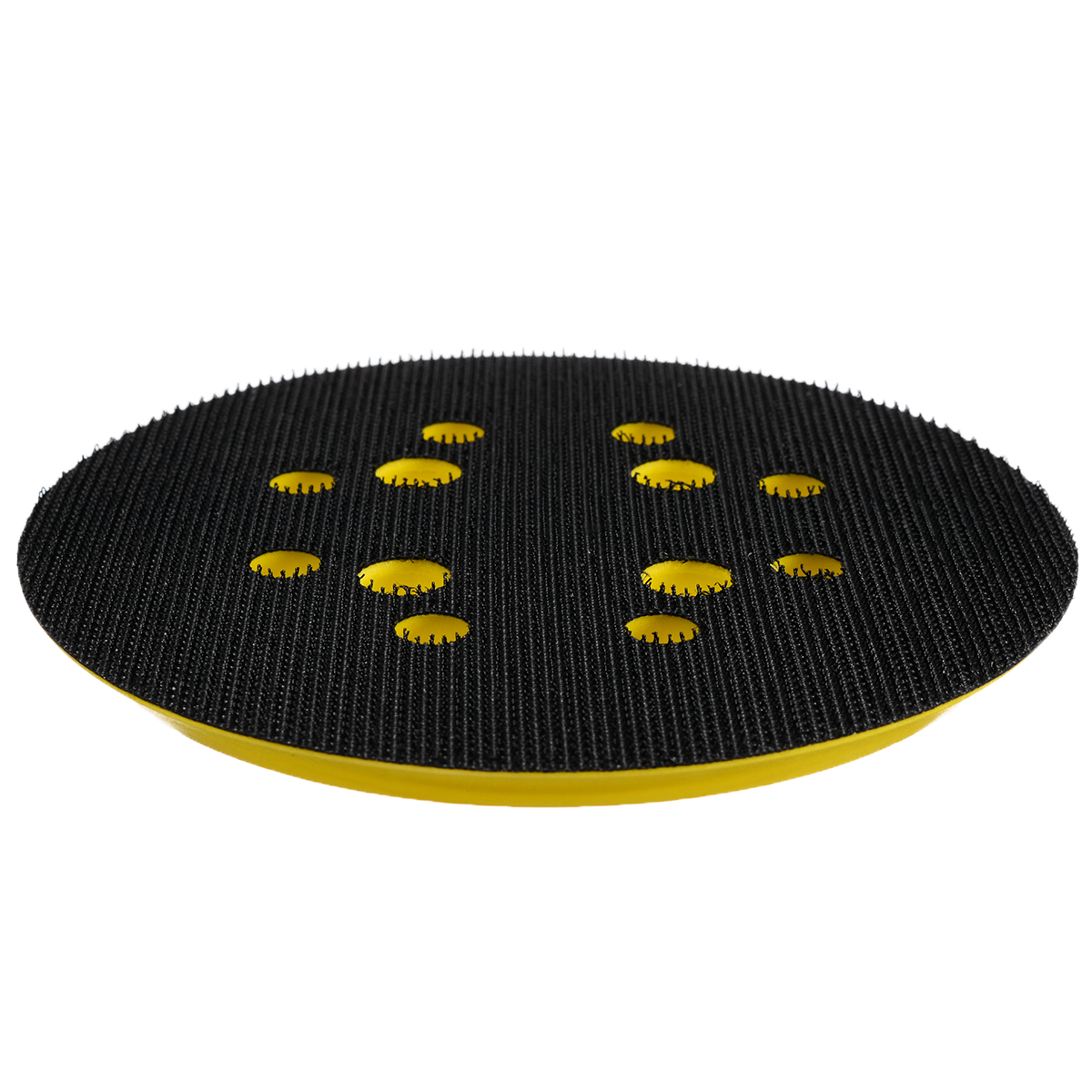 Image 5 - 5 Inch 8 Hole 125mm Back up Sanding Pad 4 Nails Hook and Loop Sander Backing Pad for Electric Grinder Power Tools Accessories-in Abrasive Tools from Tools
