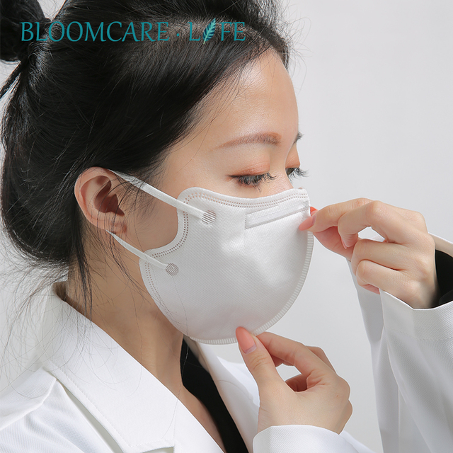 Ship in 24 Hours 【BloomCare】KN95 Mouth Mask Dust-proof Anti-Flu Breathable Comfortable Face Mask 2