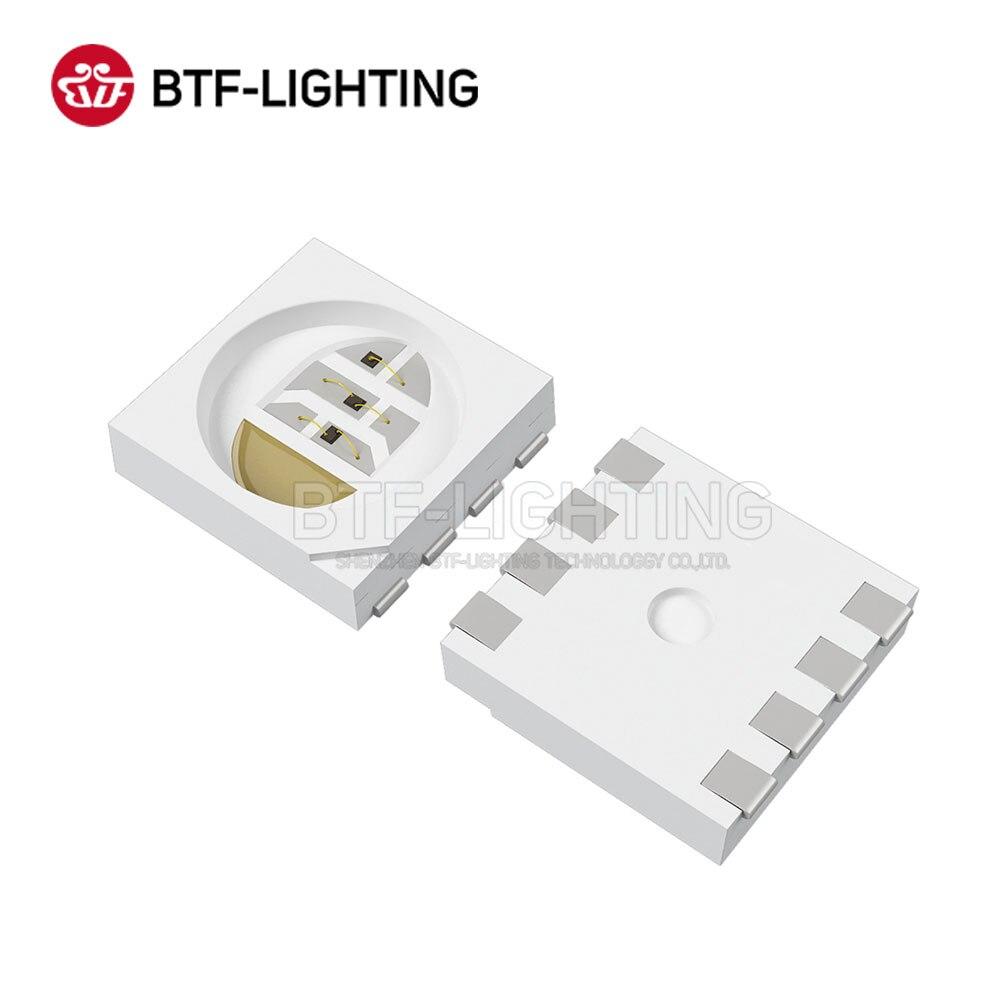 BTF5050RGBW 1000pcs 5050 SMD LED Chip 0.4W/PCS RGBW 4 Color in 1 Led Red Green Blue White for Led Strip DC 5V - 2