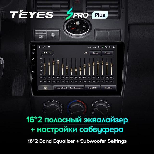 TEYES SPRO Plus Штатная магнитола For Лада Приора 1 For LADA Priora I 1 2007 - 2013 Android 10 до 8-ЯДЕР до 6 + 128ГБ 16*2EQ + DSP 2DIN автомагнитола 2 DIN DVD GPS мультимедиа автомобиля головное устройство 3