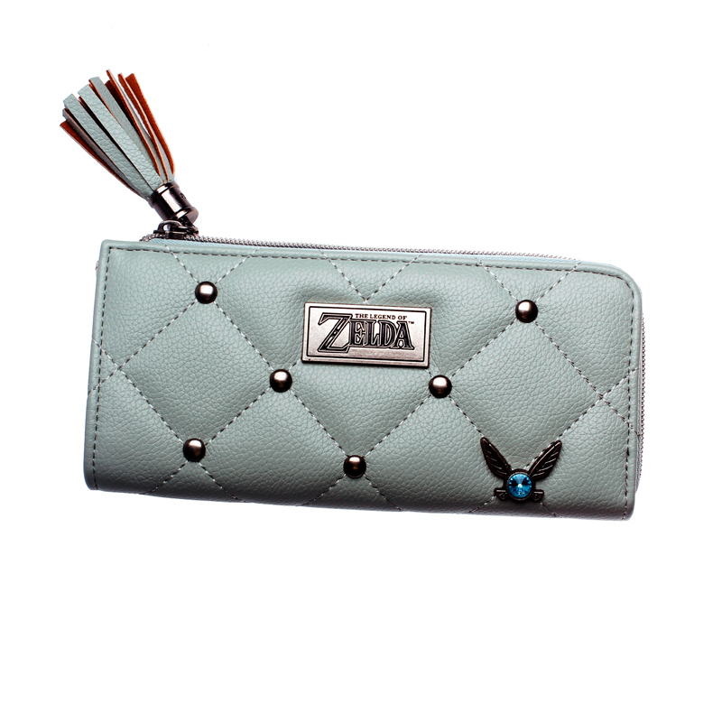 The Legend Of Zelda  Wallet  Fashion Women Wallets Designer Brand Purse Lady Party Wallet Female Card Holder DFT5524