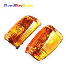 For Ford Transit 2013 2014-2019 Left Right Door Wing Mirror Indicator Rearview Edge Lights Amber Car Clear Lens 1847387 1847389