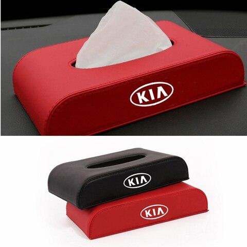 caixa de tecido do carro acessorios para kia k2 k3 k4 k5 optima ceed rio