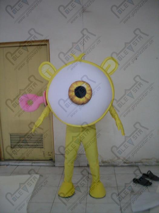 quality one eye monster mascot  costumes cartoon monster mascot design