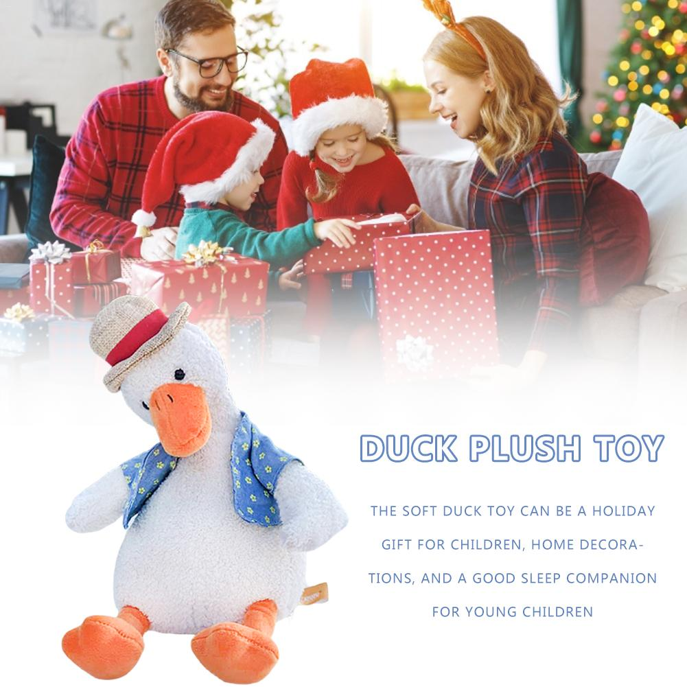 34cm Small Stuffed Duck Plush Doll Toy Cartoon Doll Duck Plush Toys Duck Stuffed Animals Plush Toy For Children Birthday Gift