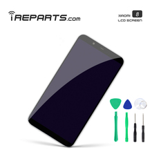IREPARTS Display for Xiaomi Mi 8 LCD Pantalla No Die Pixel Touch Screen Replacement  + Tools Gift