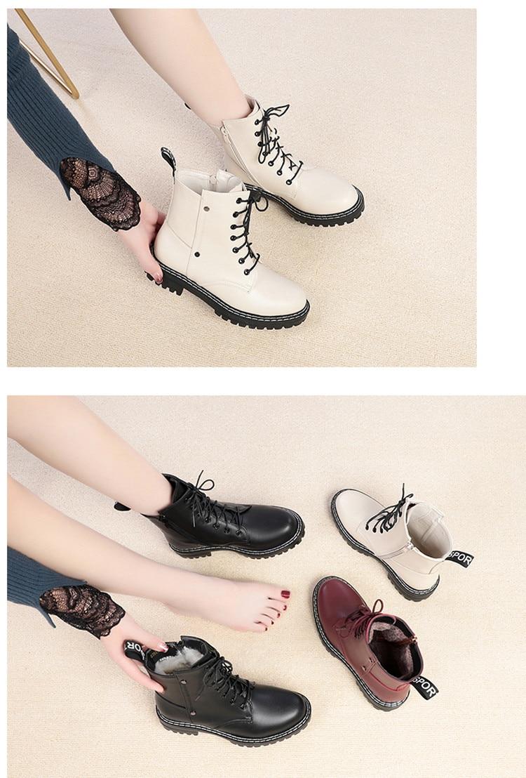 novas senhoras de couro genuíno botas de