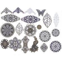 10 шт., подвески-бабочки для украшения