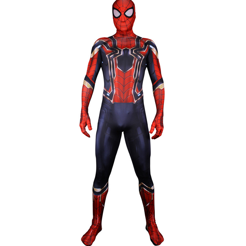 Anime Spider Cosplay Costumes Peter Parker Costume Uniforms Halloween Carnival Party Movie Jumpsuits